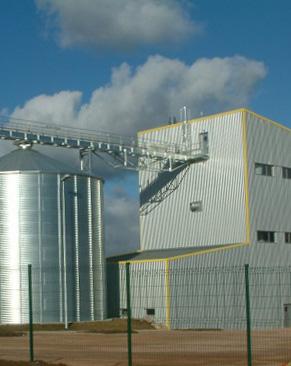 SGA - Unité de fabrication de granulés de bois ARLANC (63)