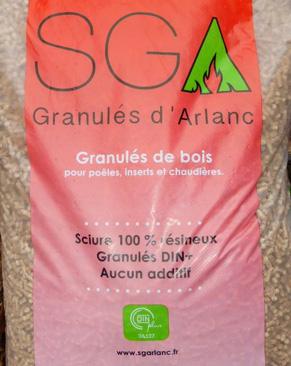 SGA - Granulés de bois en sacs ou en vrac - Livraison