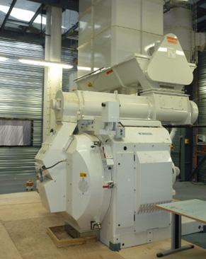 SGA, unité de production de granulés de bois à Arlanc - Puy-de-Dômes (63)