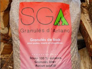 SGA - Stockage du granulé de bois